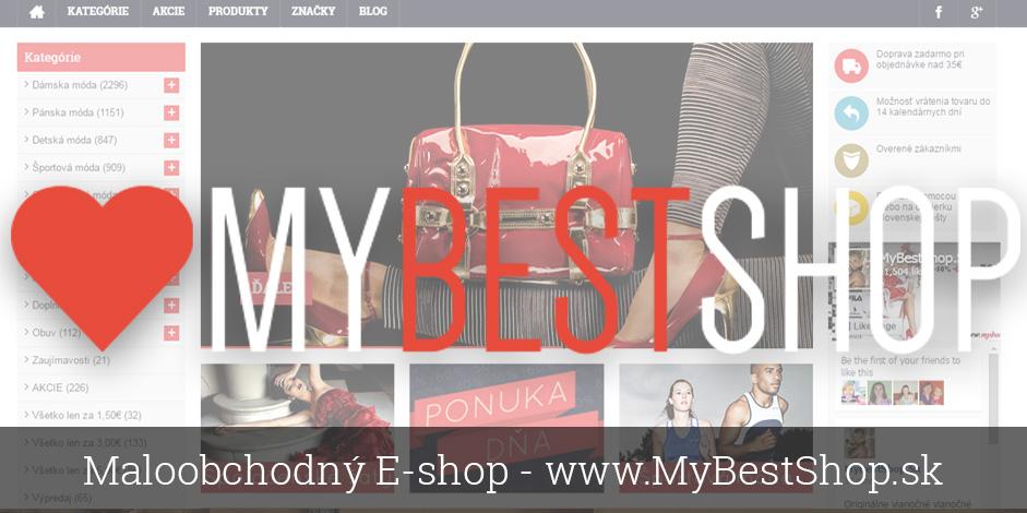 Maloobchodný E-shop - www.MyBestShop.sk